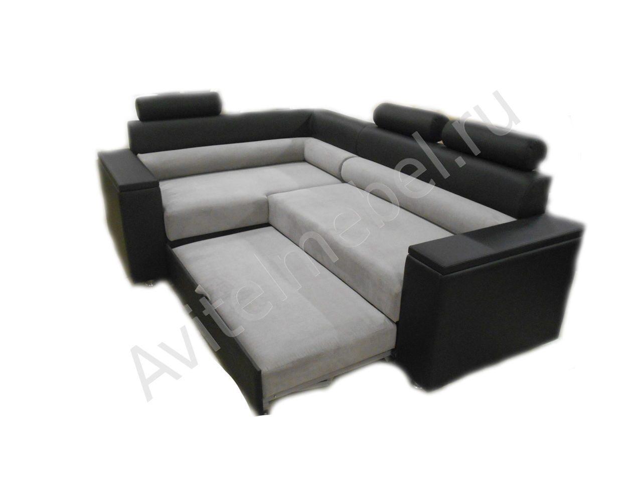 Угловые диваны кровати 13 фотография